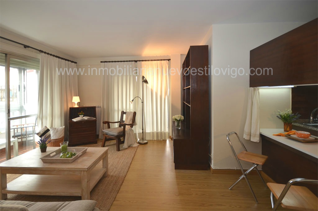 Apartamento en residencial apart 1 en gran v a vigo for Alquiler oficinas en vigo
