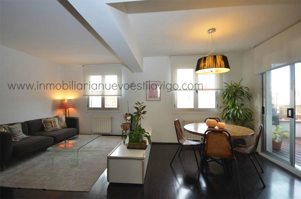 Moderno tico de dise o con terraza en c camelias vigo - Inmobiliaria quesada vigo ...