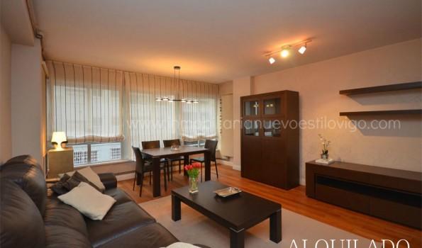 Apartamento de dos dormitorios en edificio Apartuno, Gran Vía_Vigo