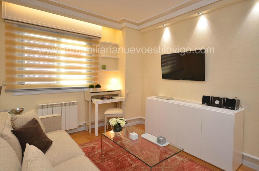 Apartamento amueblado de lujo en comunidad residencial en garc a barb inmobiliaria nuevo estilo vigo - Alquiler de apartamentos en vigo ...