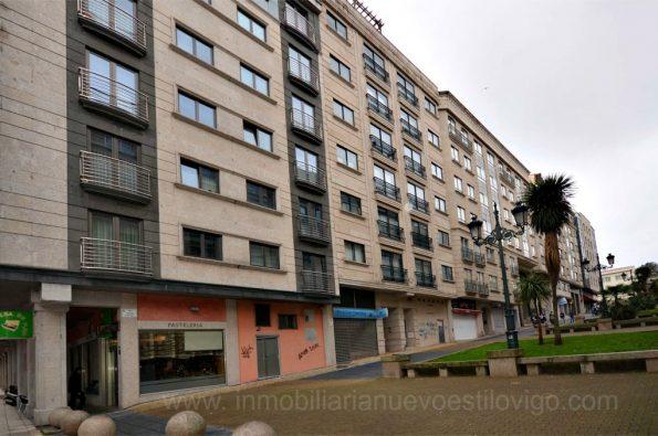 Estudio-ático con terraza, C/ Enrique Macías_ Vigo – Zona Hispanidad-Castro