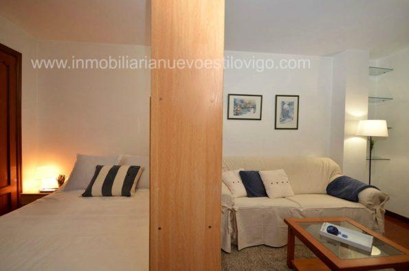 Acogedor estudio en calle Carral _ Vigo-zona marítima centro