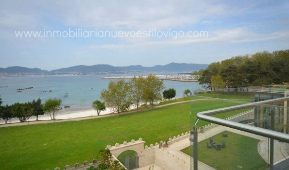 Viviendas adosadas en paseo playa Santa Baia_Vigo-Zona Alcabre Bouzas