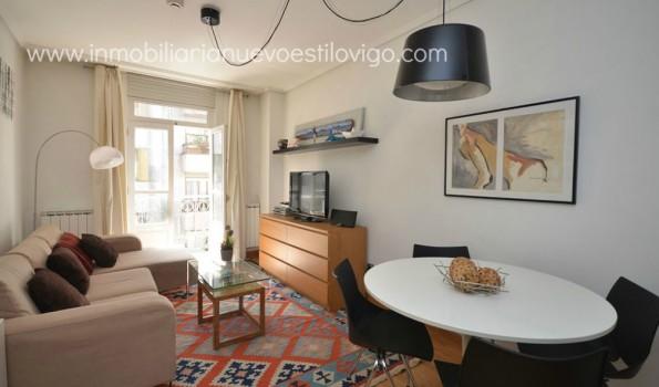 Apartamento amueblado una habitación con garaje y trastero c/Luis Taboada_Vigo-Zona Plaza Compostela
