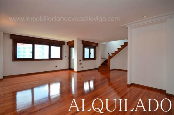 Gran ático dúplex de 180 m2 y dos terrazas en Plaza de la Industria_Vigo-Zona Plaza América Beiramar