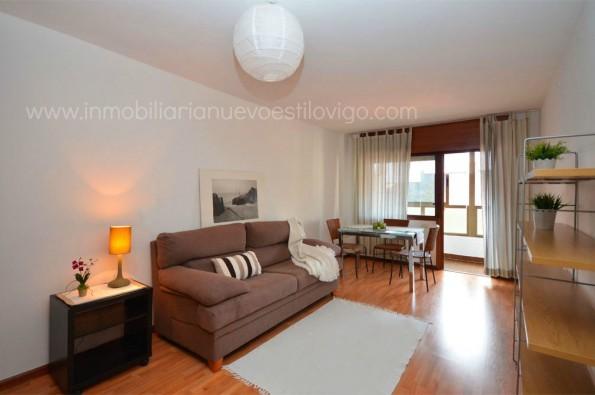 Luminoso apartamento de un dormitorio con garaje en C/ Paraguay_Vigo-zona Corte Inglés