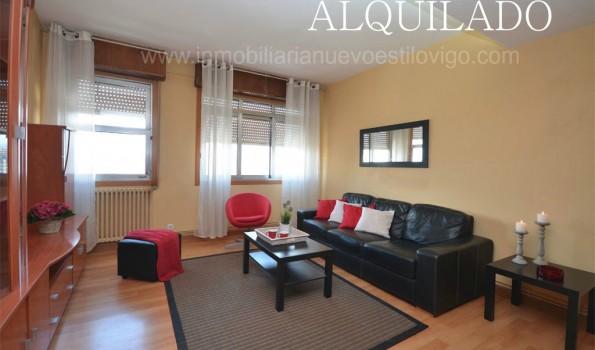 Piso de tres dormitorios muy luminoso y con vistas al mar en estación AVE_Vigo – Zona Urzáiz-Pizarro