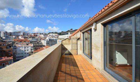 Fantástico atico duplex con dos terrazas en C/ Rosalía Castro_Zona marítima centro