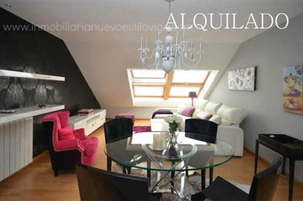 Apartamento ático céntrico de una habitación con garaje en Policarpo Sanz_Vigo-Zona Centro