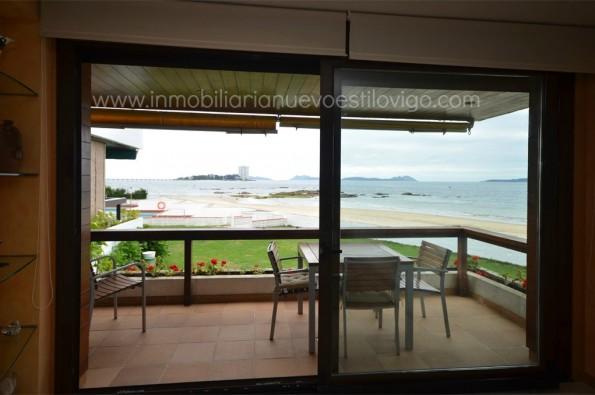 Vivienda a pie de playa, en Urbanización privada Fox en Coruxo_Vigo costa