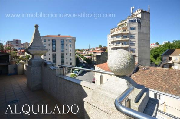 Ático con dos terrazas y chimenea en Bouzas_Vigo-Zona Bouzas Alcabre