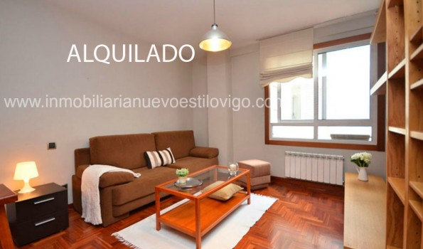 Céntrico apartamento con garaje(opcional) en C/ García Barbón-Vigo_centro
