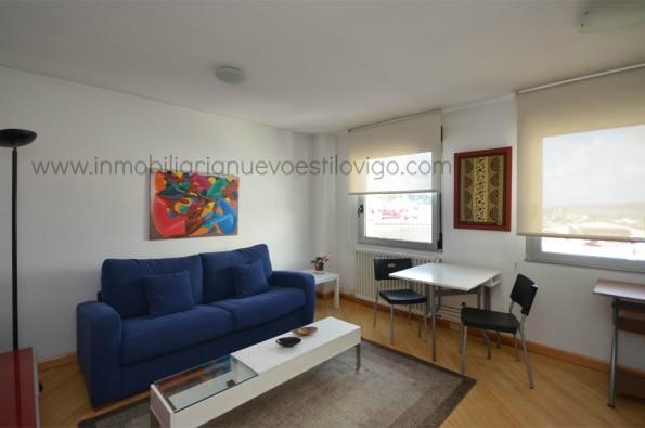 Original apartamento en una décima planta con vistas en C/ San Salvador-Vigo_ Plaza de Fernando el Católico