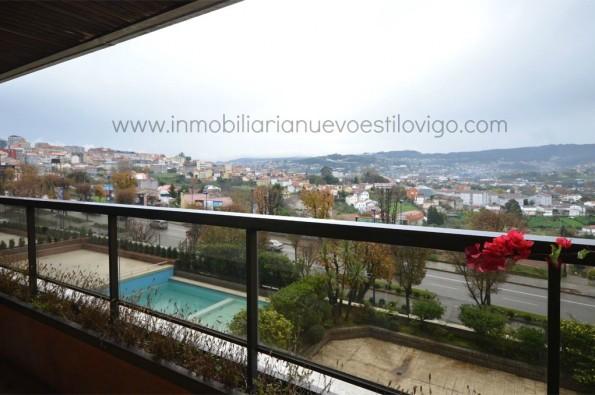 Apartamento de un dormitorio con terraza en C/ Zamora-Vigo_zona Gran Vía-Traviesas
