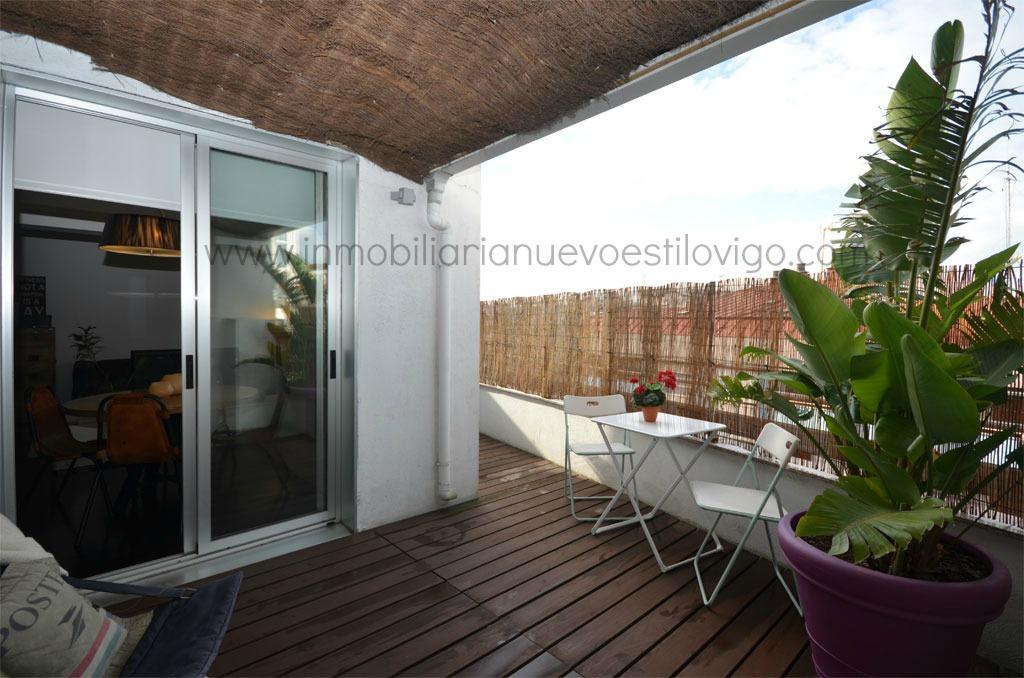 Moderno ático De Diseño Con Terraza En C Camelias Vigo Zona