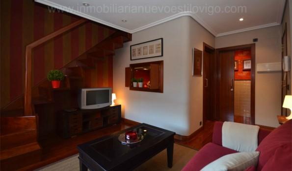 Original dúplex de un dormitorio con garaje y trastero en C/ Pi y Margall_Vigo-Zona centro