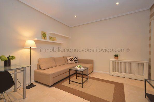 Céntrico apartamento de un dormitorio en C/ Colón-Vigo_zona centro