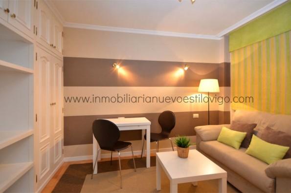 Acogedor apartamento con amplios armarios y garaje en C/ Brasil-Vigo_Zona centro
