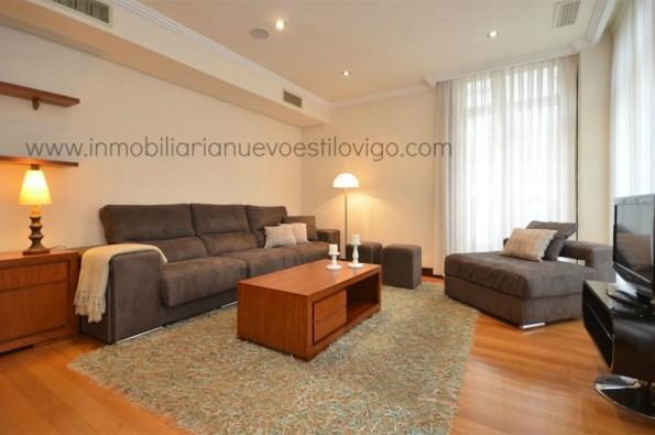 Vivienda de 3 dormitorios en edificio de lujo, C/ Luis Taboada-Vigo_zona marítima centro
