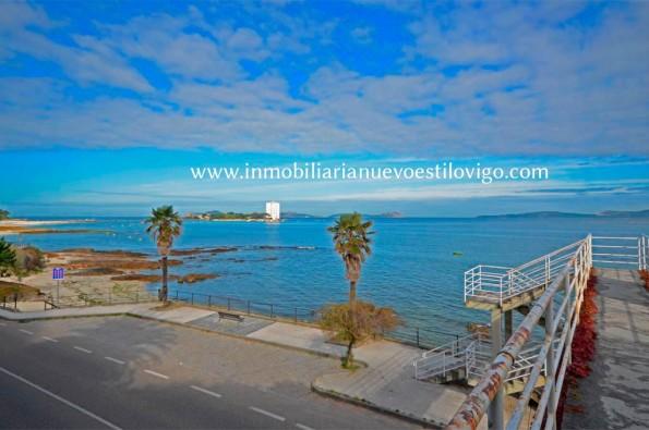 "Maravillosas vistas desde este apartamento sobre la playa, en Edificio ""Rías Baixas""- Coruxo_Vigo zona playas"