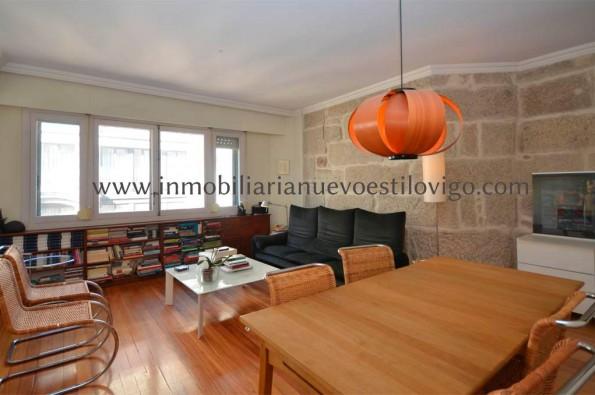 Amplio piso de 140 m2 rehabilitado en C/ Reconquista-Vigo_Zona Centro
