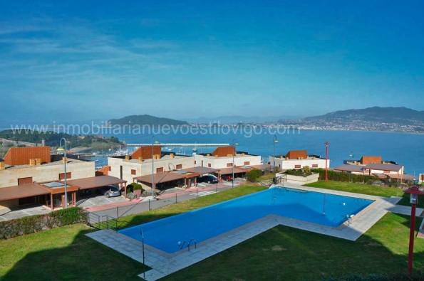 Vivienda de dos dormitorios en Urbanización Vista Real-Baiona_zona playas