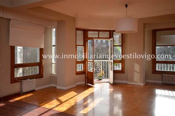 Soleada vivienda de 220 m2 en la Alameda, Plaza de Compostela-Vigo_zona centro