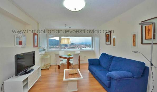 Espectaculares vistas desde este apartamento en la Isla de Toralla-Vigo_zona playas