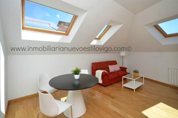 Bonito ático en edificio de nueva construcción en Bouzas_Vigo