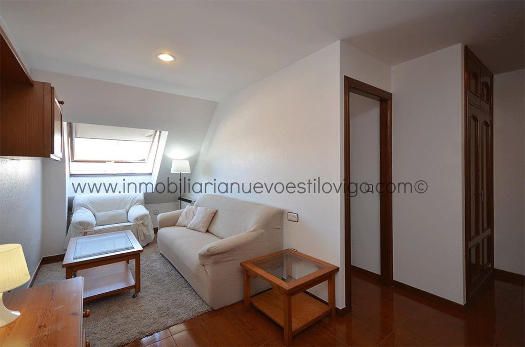 Luminoso tico con dormitorio independiente c cuba vigo zona corte ingl s inmobiliaria nuevo - Piso cristal vigo ...