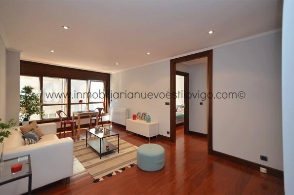 Soleado apartamento a estrenar con garaje en el edificio SUEVIA, C/ Marqués de Valladares-Vigo_zona centro