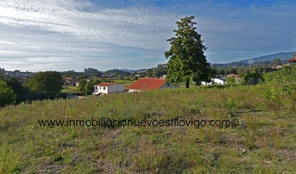 Soleada parcela con proyecto y Licencia en Borreiros-Gondomar- Zona Valmiñor.