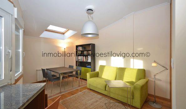 Acogedor y luminoso estudio en C/ Falperra-Vigo_zona Ayuntamiento