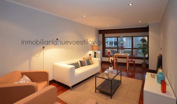 Céntrica vivienda de dos dormitorios con garaje a estrenar en C/ Marqués de Valladares-Vigo_zona centro
