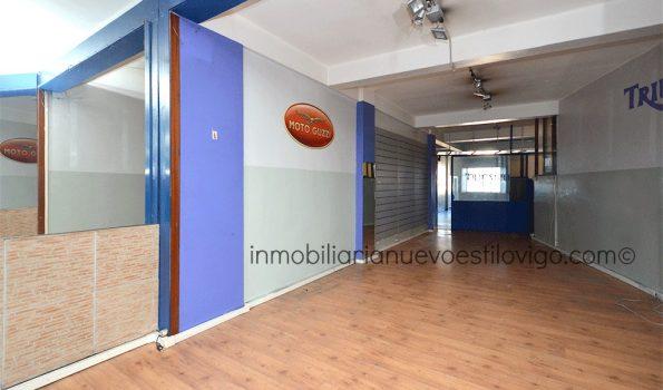 Local muy bien situado de 125 m2 en C/ Hispanidad-Vigo_zona El Castro