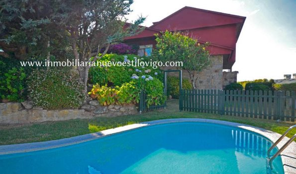 Exclusivo chalet con piscina en la isla de Toralla-Vigo_zona playas