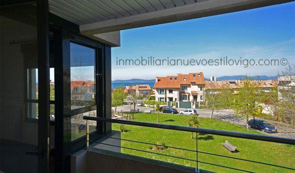 Apartamento con vistas al mar de 2 dormitorios con garaje en Canido-Vigo_zona playas
