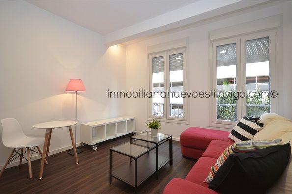 Céntrico apartamento nuevo de un dormitorio, C/ México_Vigo-zona Gran Vía/Corte Inglés