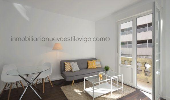 Céntrico apartamento de un dormitorio a estrenar, C/ México_Vigo-zona Gran Vía/Corte Inglés