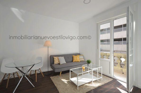 Céntrico apartamento de un dormitorio, C/ México_Vigo-zona Gran Vía/Corte Inglés