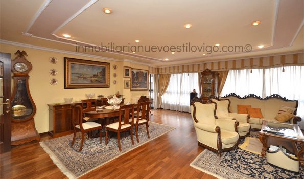 Estupendo piso de 180 m2, con gran salón en C/ Nicaragua-Vigo_zona plaza Elíptica/Corte Inglés