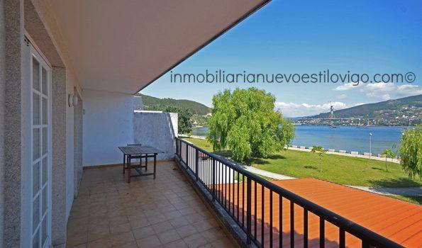 Maravillosas vistas al mar desde esta vivienda de 4 dormitorios al borde del mar, en Domaio-Moaña_zona Morrazo