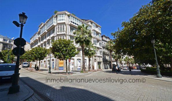 Fantástico Dúplex con terraza de 17 m2 en plena Alameda, C/ Victoria-Vigo_zona centro/Plaza de Compostela