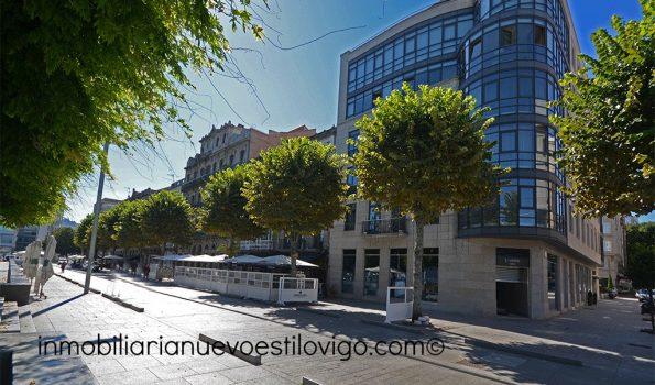 Exclusiva, única y lujosa vivienda, más oficina y despacho anexos, con espectaculares vistas a la ría, C/ Montero Ríos_Vigo-Zona marítima centro