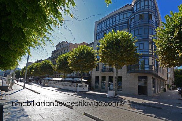 Exclusiva, única y lujosa vivienda, con espectaculares vistas a la ría, C/ Montero Ríos_Vigo-Zona marítima centro