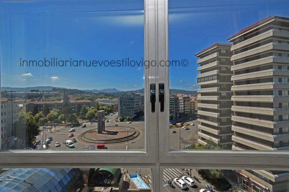 Estupendo apartamento, soleado, totalmente exterior y con vistas a la Plaza de América-Vigo_zona Traviesas