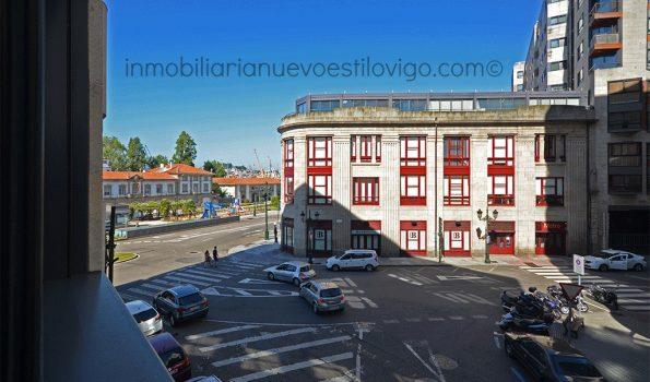 Original y céntrico apartamento de dos dormitorios con garaje, C/ Arenal-Vigo_zona marítima centro
