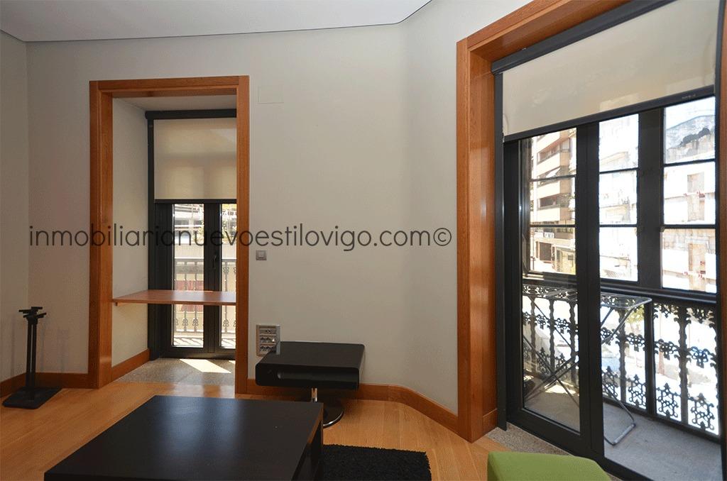 Moderno apartamento en alquiler de un dormitorio en pleno centro c progreso vigo zona centro - Alquiler de apartamentos en vigo ...