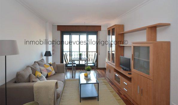 Apartamento de dos dormitorios, con garaje y vistas al mar a 10 minutos de la playa, C/ San Gregorio-Vigo_zona Tomás Alonso/Bouzas