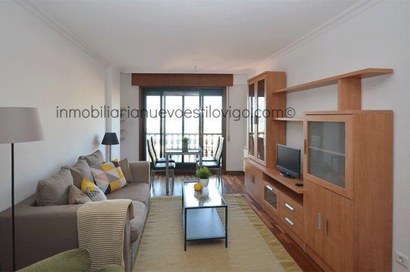 Apartamento de 2 dormitorios, con garaje y vistas al mar a 10 minutos de la playa C/ San Gregorio-Vigo_zona Tomás Alonso/Bouzas